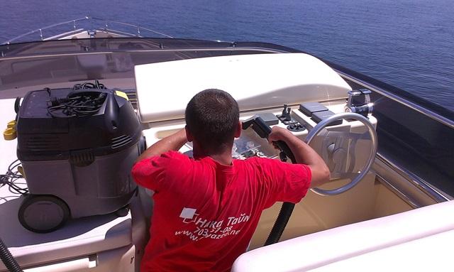 Клининг яхты Одесса