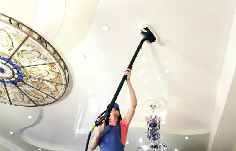 Как помыть натяжные потолки фото 7